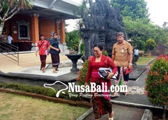 Nusabali.com - mendadak-batal-rapat-rapbd-2019-membahas-belanja-daerah-tabanan