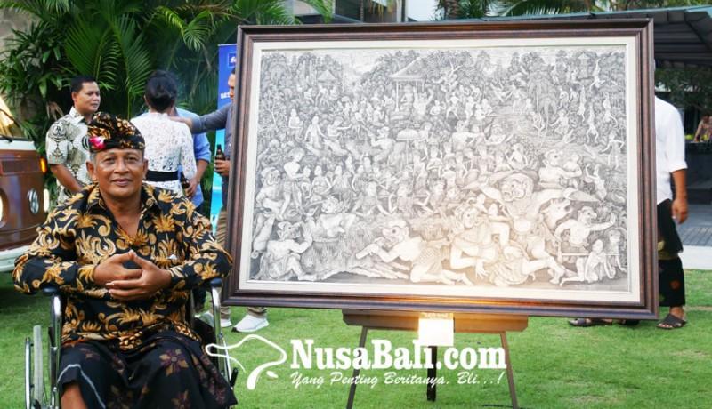 www.nusabali.com-dewa-putu-arsania-pelukis-gaya-batuan-gelar-pameran-tunggal-yang-pertama