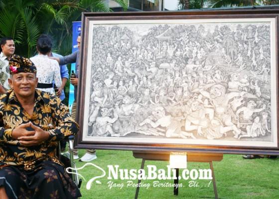 Nusabali.com - dewa-putu-arsania-pelukis-gaya-batuan-gelar-pameran-tunggal-yang-pertama