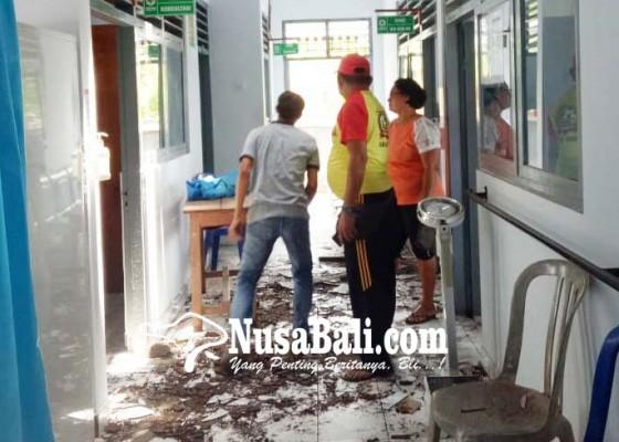 Nusabali.com - puskesmas-selemadeg-timur-ii-tersambar-petir