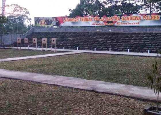 Nusabali.com - kapolda-bali-resmikan-lapangan-tembak-polres-tabanan