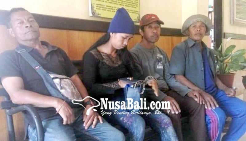www.nusabali.com-nasabah-lpd-serai-datangi-mapolres-bangli