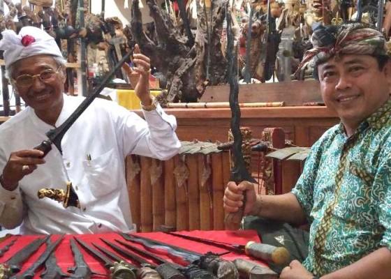 Nusabali.com - keris-bali-jadi-incaran-pedagang-asing