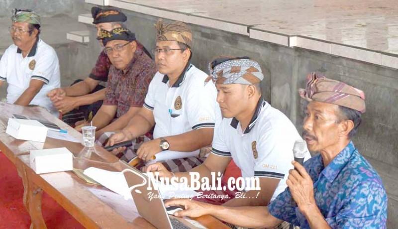 www.nusabali.com-mskmt-konsolidasi-iuran-rp-1000-per-kk
