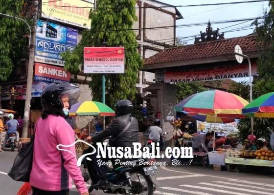 Nusabali.com - pasar-gianyar-sulit-dibangun-2019