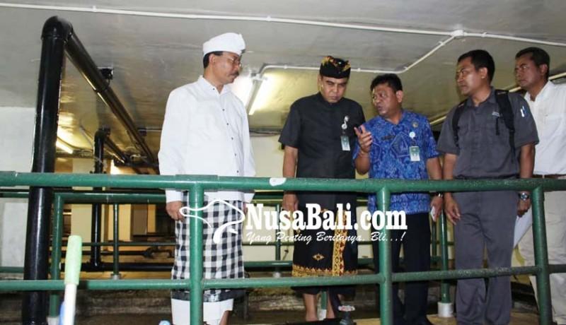 www.nusabali.com-dinas-lhk-badung-tinjau-ipal-hotel-pembuang-limbah