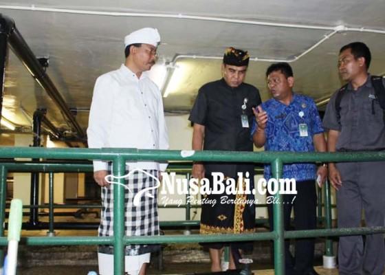 Nusabali.com - dinas-lhk-badung-tinjau-ipal-hotel-pembuang-limbah