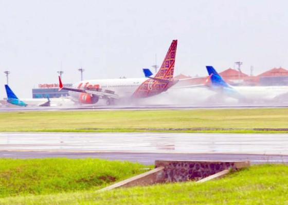 Nusabali.com - bandara-ngurah-rai-antisipasi-cuaca-ekstrim