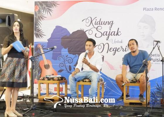 Nusabali.com - sajak-untuk-negeri-plaza-renon-gelar-musikalisasi-puisi