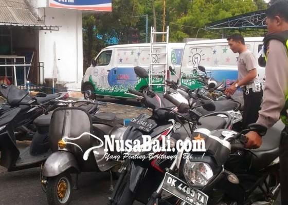 Nusabali.com - polisi-amankan-5-unit-motor