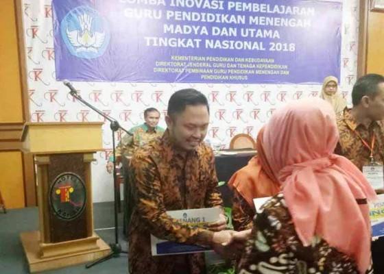 Nusabali.com - guru-smkn-bali-mandara-juara-inobel-nasional