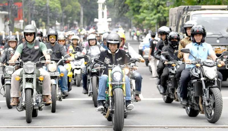 www.nusabali.com-presiden-mengikuti-konvoi-sepeda-motor