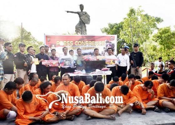 Nusabali.com - sebulan-polresta-gulung-28-pelaku-kejahatan-dan-narkoba