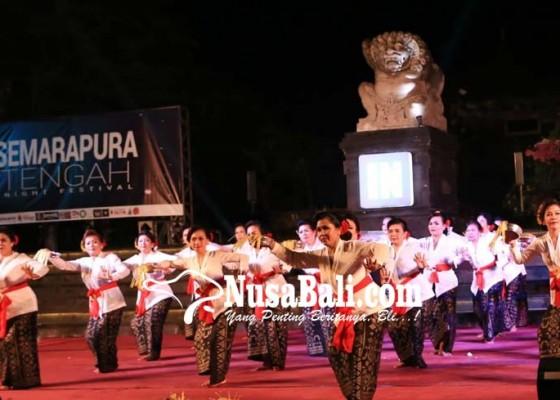 Nusabali.com - semarapura-tengah-night-festival-ditutup