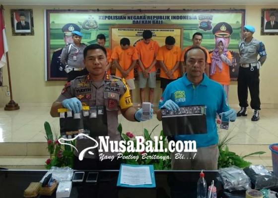 Nusabali.com - pasutri-kompak-edarkan-shabu