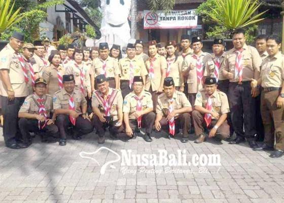 Nusabali.com - kwarcab-karangasem-gelar-karang-pamitran