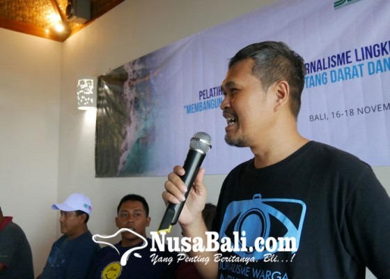 Nusabali.com - siej-gelar-pelatihan-dan-mentoring-jurnalisme-lingkungan