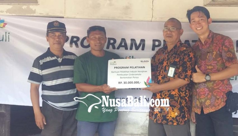 www.nusabali.com-pln-gelar-csr-pelatihan-kerajinan