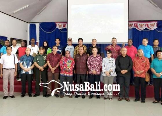 Nusabali.com - kunjungan-ke-sorong-bupati-promosikan-wisata-bangli