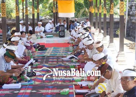 Nusabali.com - penataan-pura-penataran-perlu-dana-rp-10-m