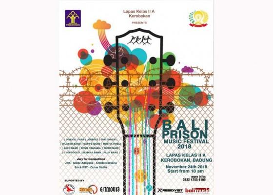 Nusabali.com - narapidana-bakal-unjuk-gigi-di-bali-prison-music-festival-2018