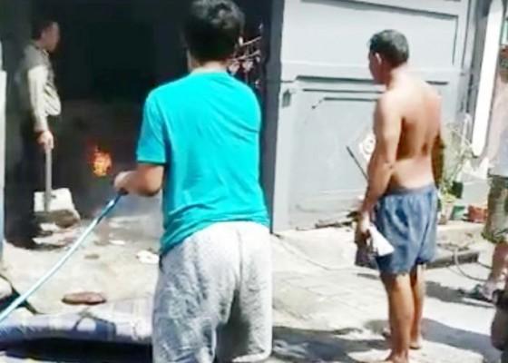 Nusabali.com - selang-tabung-gas-bocor-dapur-warga-nyaris-ludes