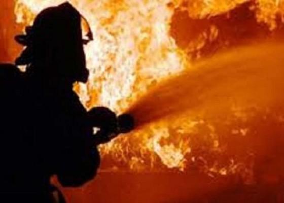 Nusabali.com - sehari-dua-rumah-hangus-terbakar