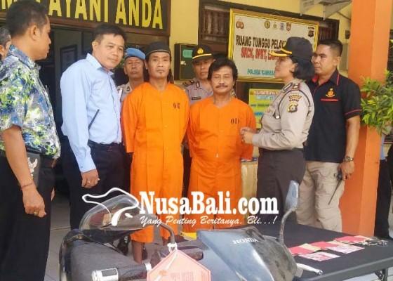Nusabali.com - curi-alat-pancing-dua-nelayan-diciduk