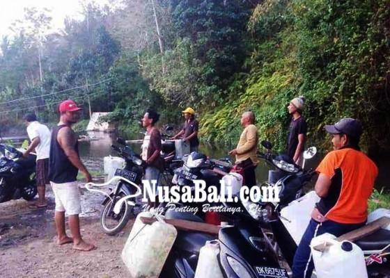 Nusabali.com - jaringan-spam-bendungan-titab-ularan-prioritaskan-desa-lain