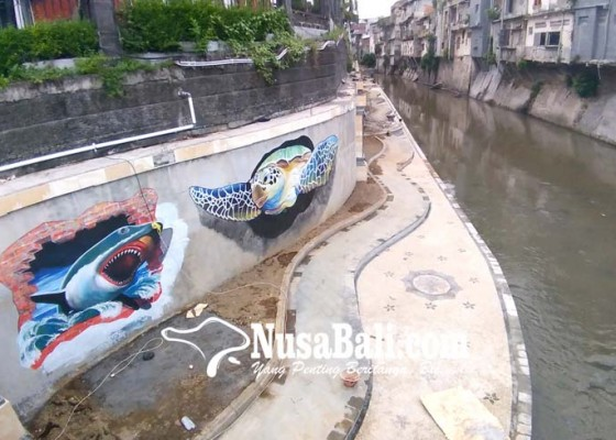 Nusabali.com - cuaca-ganggu-proyek-tukad-badung-tahap-ii