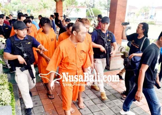 Nusabali.com - 4-hari-gulung-8-tersangka-narkoba