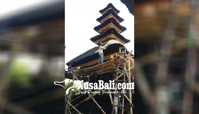 www.nusabali.com-proyek-meru-pura-watu-klotok-molor