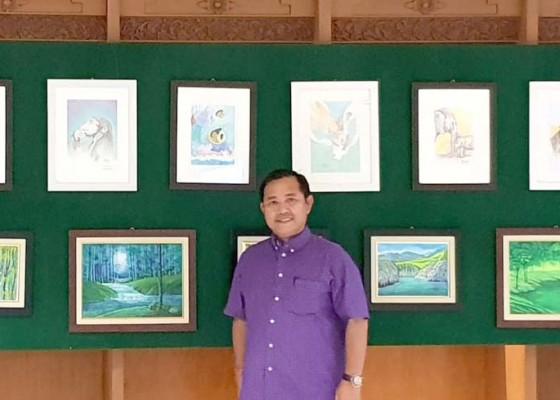 Nusabali.com - pamerkan-35-lukisan-terkumpul-rp-190-juta