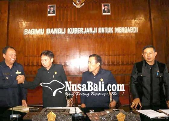 Nusabali.com - gabungan-komisi-berikan-tiga-catatan-rancangan-apbd-2019