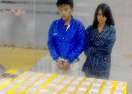 Nusabali.com - pasangan-kekasih-pemilik-1-kg-shabu-dilimpahkan