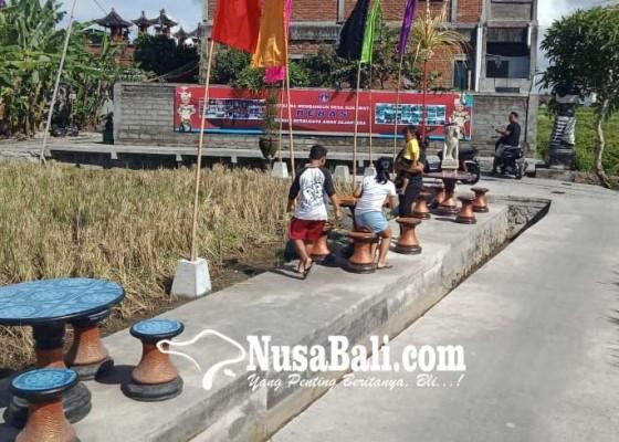 Nusabali.com - jalan-subak-dipakai-jogging-trek