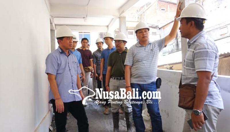 www.nusabali.com-proyek-blok-a-pasar-semarapura-baru-83-persen