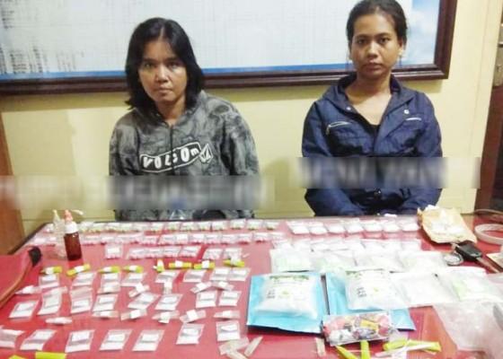 Nusabali.com - dua-wanita-gembong-narkoba-diringkus