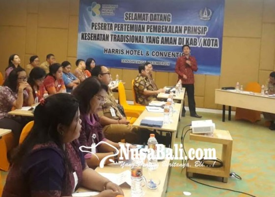 Nusabali.com - satukan-persepsi-untuk-data-pelayanan-kesehatan-tradisional