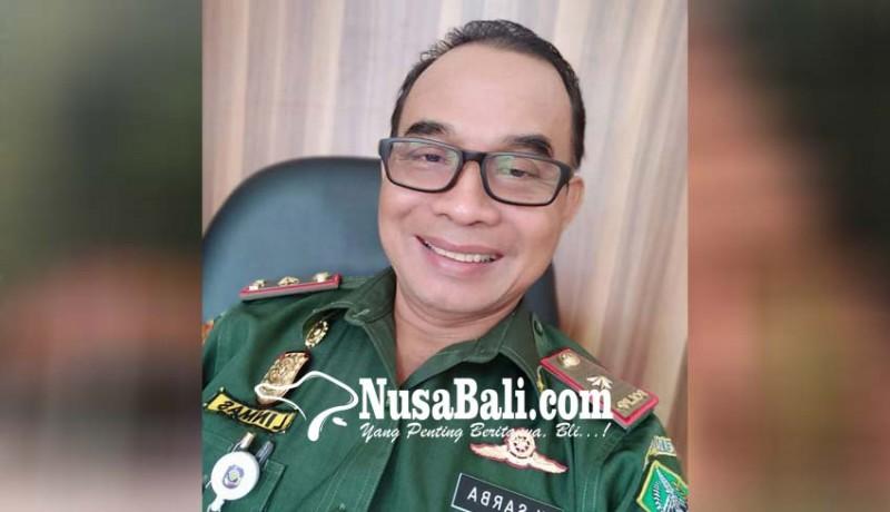 www.nusabali.com-desa-nihil-pelatihan-anggota-linmas