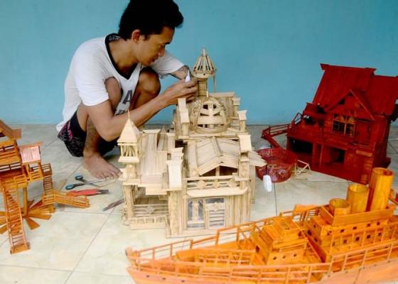 Nusabali.com - kerajinan-berbahan-bambu