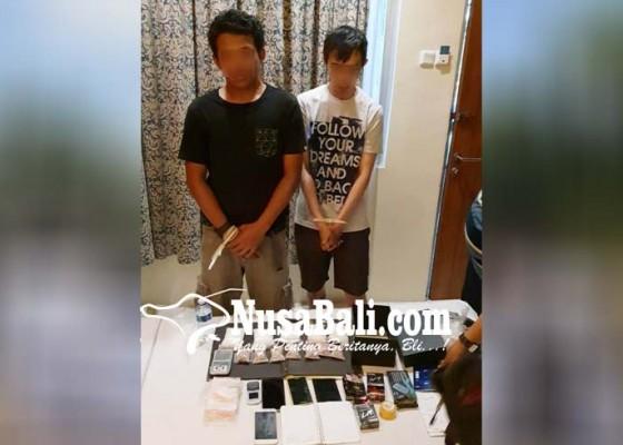 Nusabali.com - narkoba-untuk-tahun-baru-diamankan