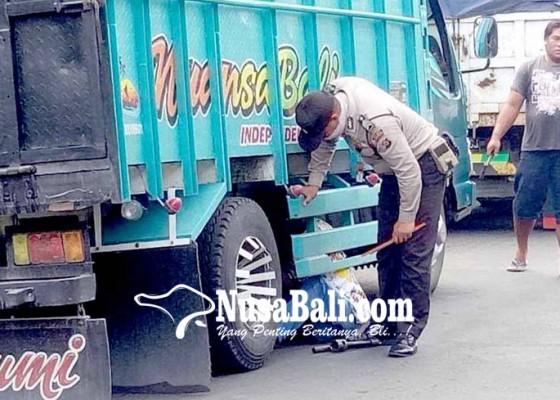 Nusabali.com - resahkan-warga-truk-berknalpot-brong-dirazia