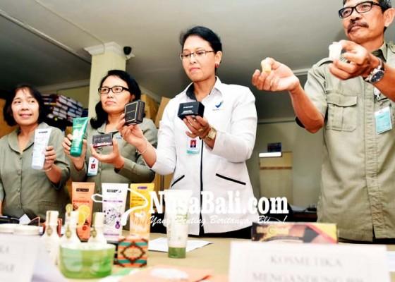 Nusabali.com - temuan-kosmetik-ilegal-capai-rp-72-m