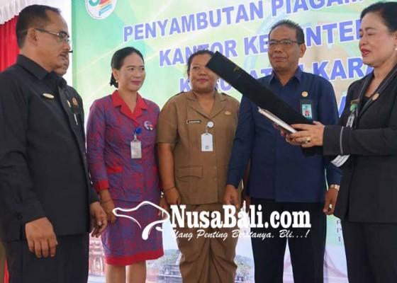 Nusabali.com - kemenag-karangasem-raih-wbk-terbaik-nasional