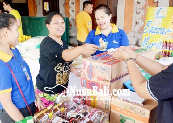 Nusabali.com - pasar-murah-pertama-diserbu-warga