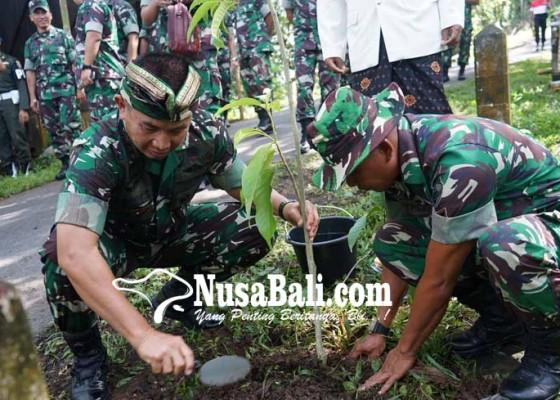 Nusabali.com - pangdam-pimpin-penghijauan-di-lempuyang