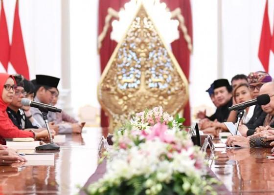Nusabali.com - presiden-bertemu-seniman-dan-budayawan