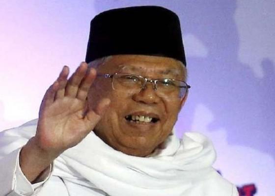 Nusabali.com - larangan-berjalan-tak-halangi-maruf-amin-raih-dukungan