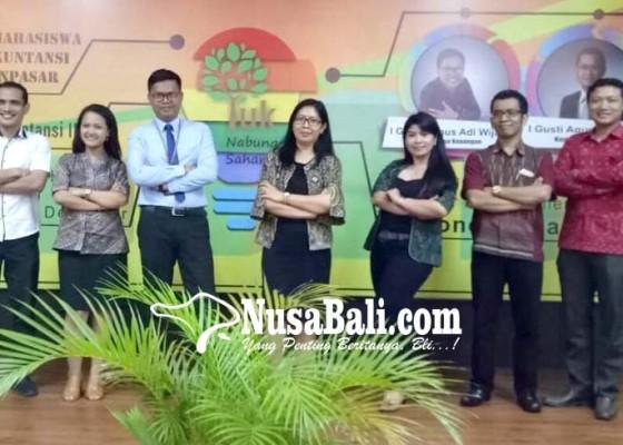 Nusabali.com - himasa-unmas-denpasar-gandeng-ojk-gelar-teima-iii